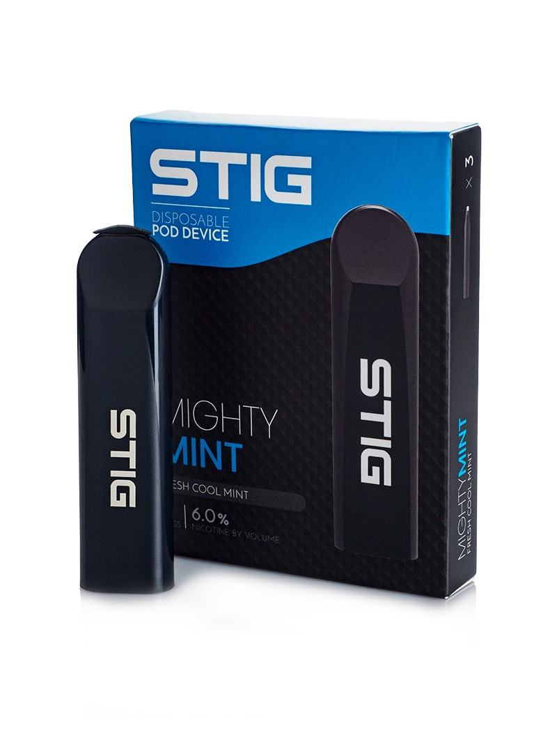 VGOD Stig Mighty Mint Disposable Pod Device (3-Pack)
