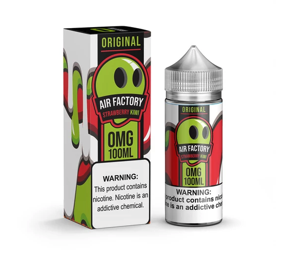 Air Factory Strawberry Kiwi 100ml Vape Juice