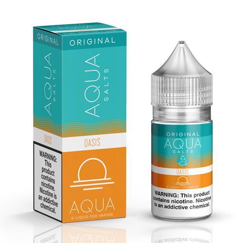 Aqua Salts Original Oasis 30ml Nic Salt Vape Juice