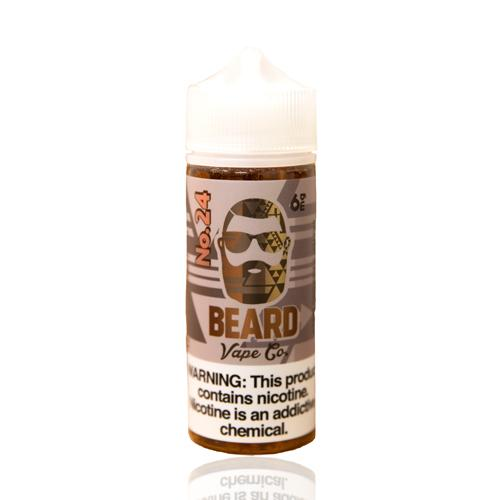 Beard Vape Co No. 24 Salted Caramel Malt 120ml Vape Juice