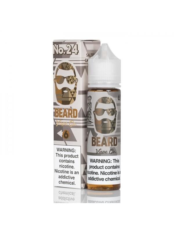 Beard Vape Co No. 24 Salted Caramel Malt 60ml Vape Juice
