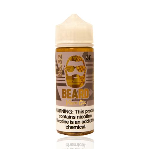Beard Vape Co No. 32 Cinnamon Funnel Cake 120ml Vape Juice