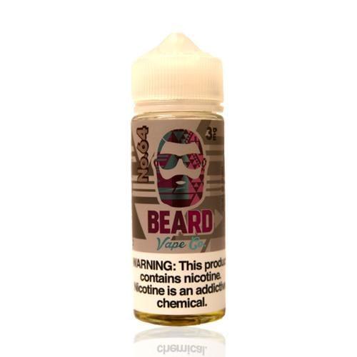 Beard Vape Co No. 64 Raspberry Hibiscus 120ml Vape Juice