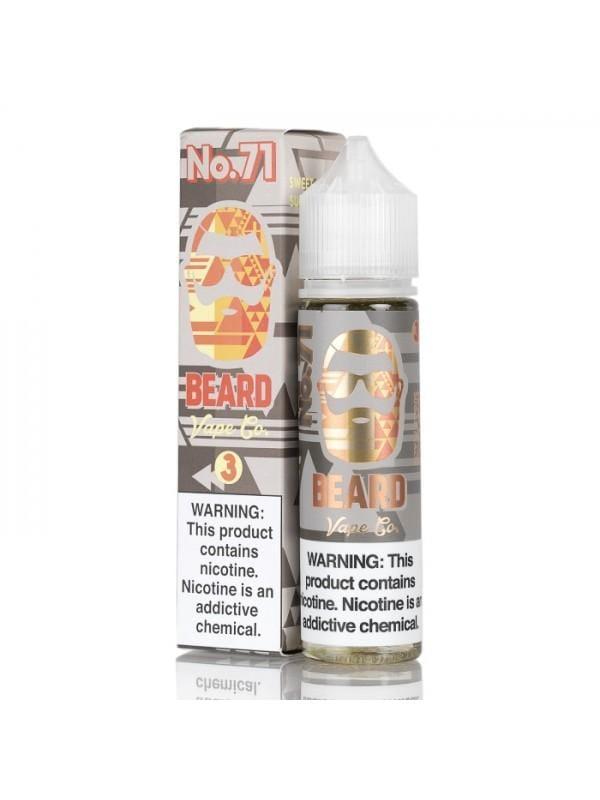 Beard Vape Co No. 71 Sweet & Sour Sugar Peach 60ml Vape Juice