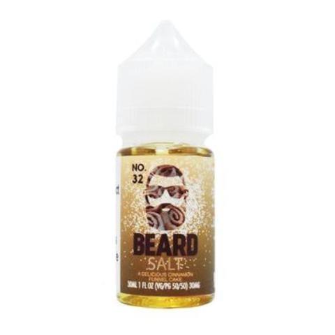 Beard Vape Co Salts No. 32 Cinnamon Funnel Cake 30ml Nic Salt Vape Juice