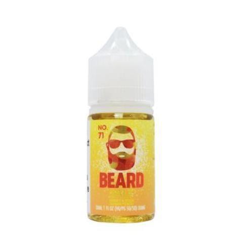 Beard Vape Co Salts No. 71 Sweet & Sour Sugar Peach 30ml Nic Salt Vape Juice