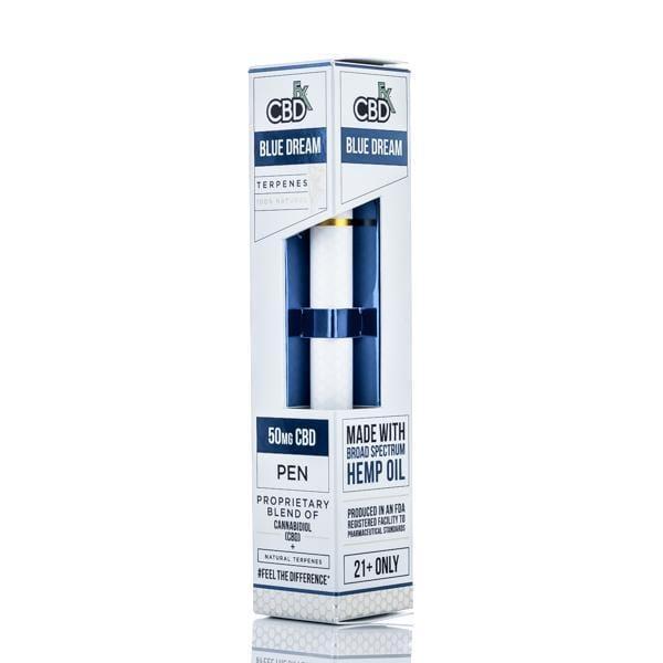 CBDfx Terpenes Vape Pen - 50mg broad spectrum CBD