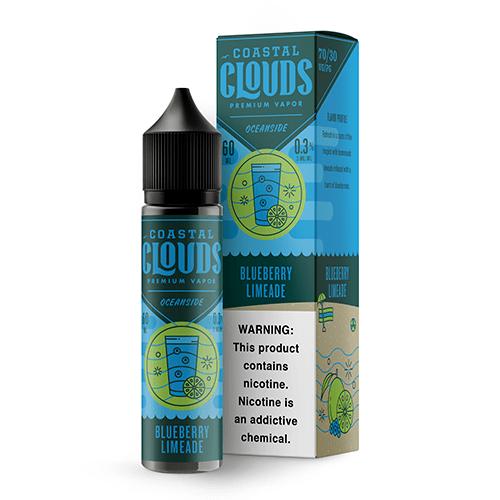 Coastal Clouds Oceanside Blueberry Limeade 60ml Vape Juice