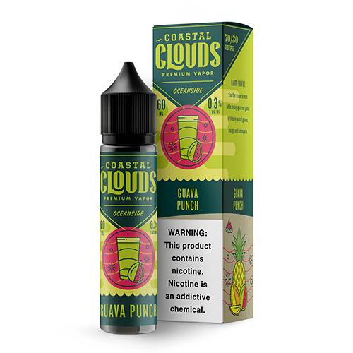 Coastal Clouds Oceanside Guava Punch 60ml Vape Juice