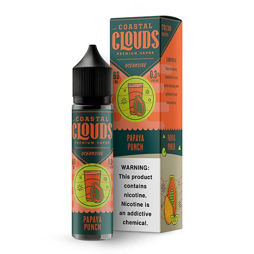 Coastal Clouds Oceanside Papaya Punch 60ml Vape Juice