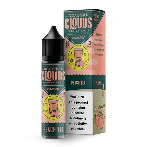 Coastal Clouds Oceanside Peach Tea 60ml Vape Juice