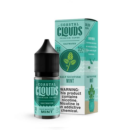 Coastal Clouds Saltwater Mint 30ml Nic Salt Vape Juice