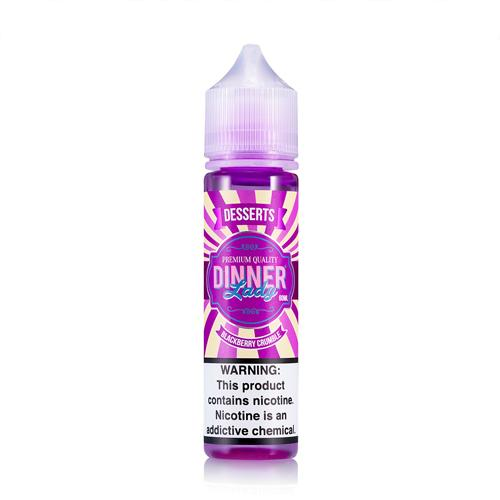 Dinner Lady Blackberry Crumble 60ml Vape Juice