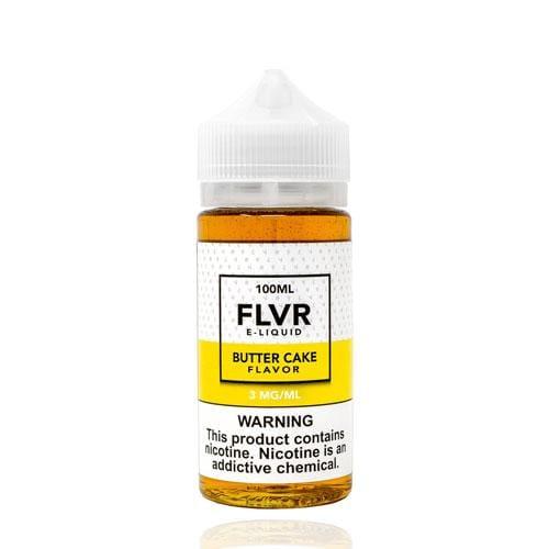 FLVR Butter Cake 100ml Vape Juice