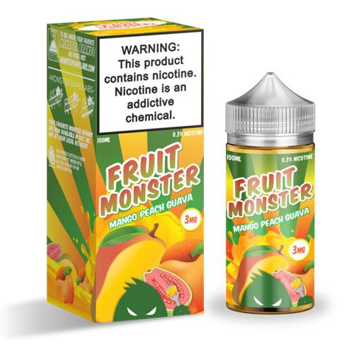 Fruit Monster Mango Peach Guava 100ml Vape Juice