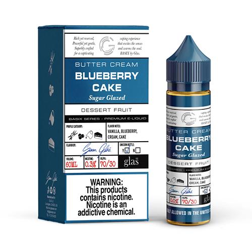 GLAS Basix Series Vape Juice Blueberry Cake 60ml