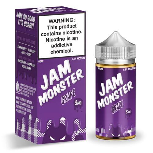 Jam Monster Grape 100ml Vape Juice