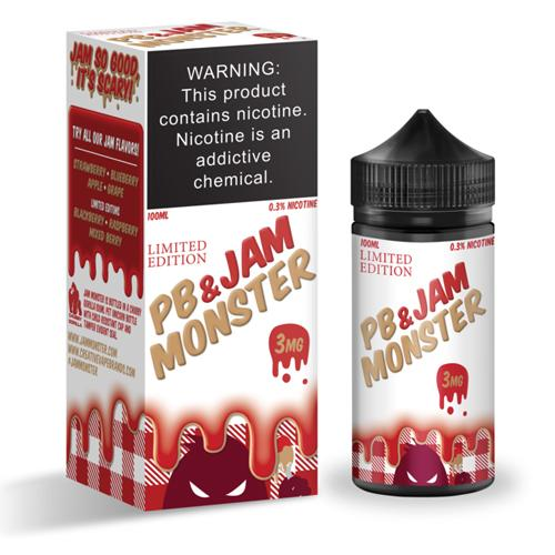 Jam Monster Strawberry PB&J 100ml Vape Juice
