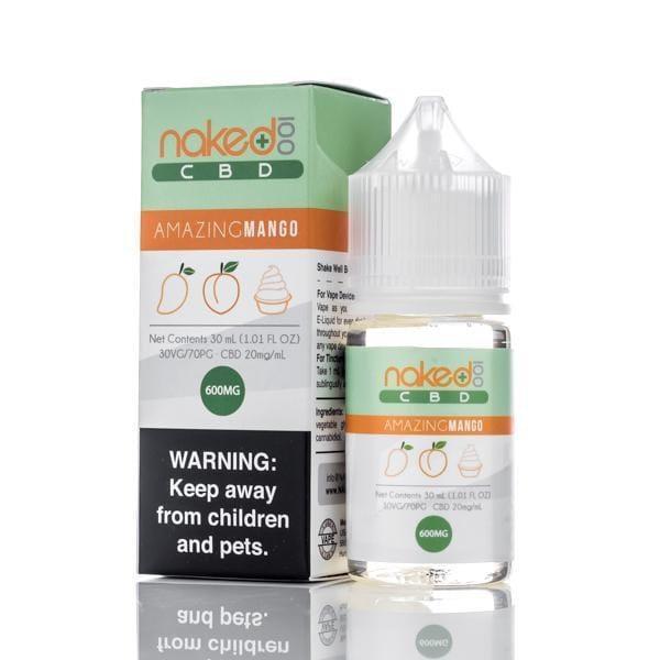 Naked 100 CBD Vape Juice - Amazing Mango - 30ml