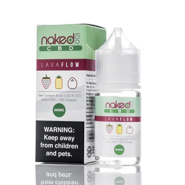 Naked 100 CBD Vape Juice - Lava Flow - 30ml