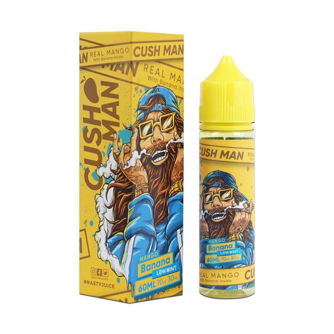 Nasty Vape Juice Cush Man Series Mango Banana 60ml