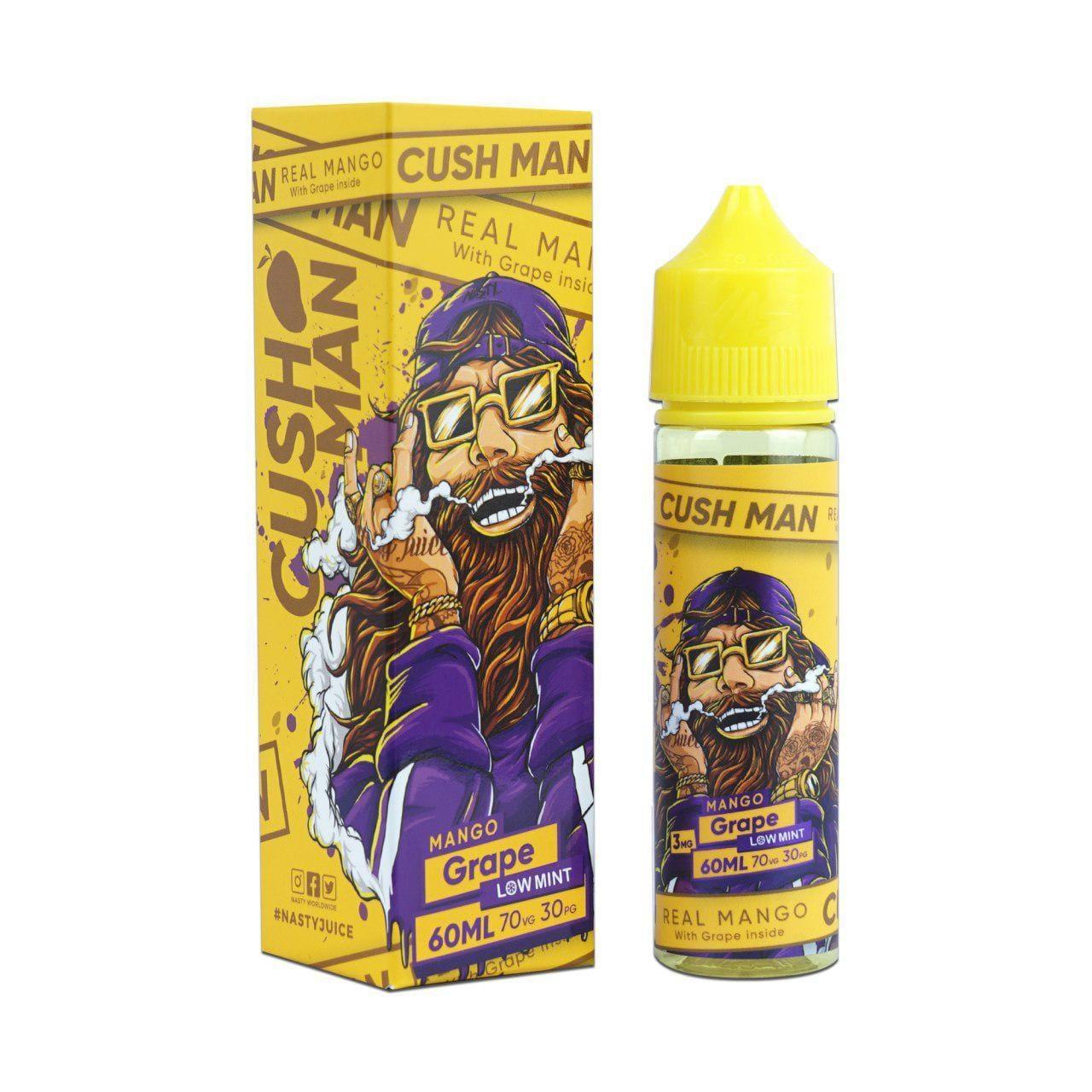 Nasty Vape Juice Cush Man Series Mango Grape 60ml