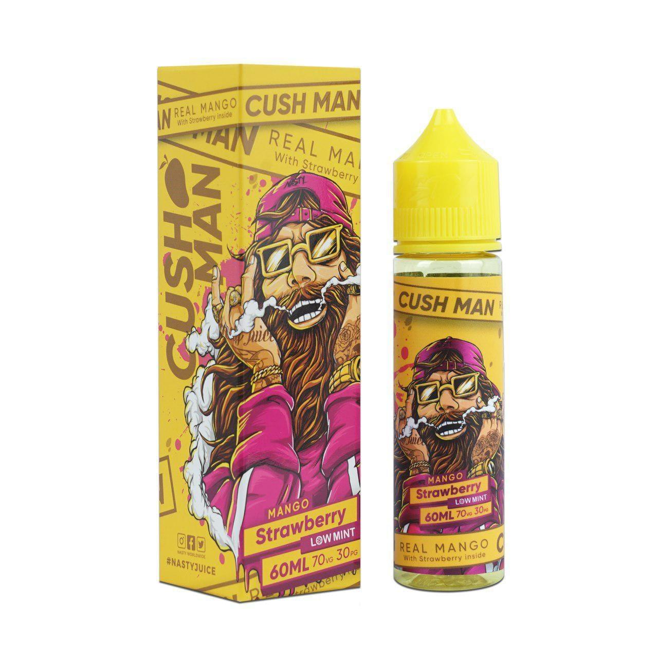Nasty Vape Juice Cush Man Series Mango Strawberry 60ml