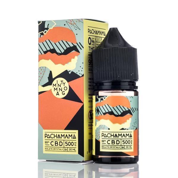 Pachamama CBD Vape Juice - Minty Mango - 30ml
