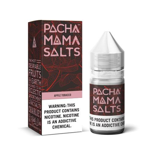 Pachamama Salts Apple Tobacco 30ml Nic Salt Vape Juice