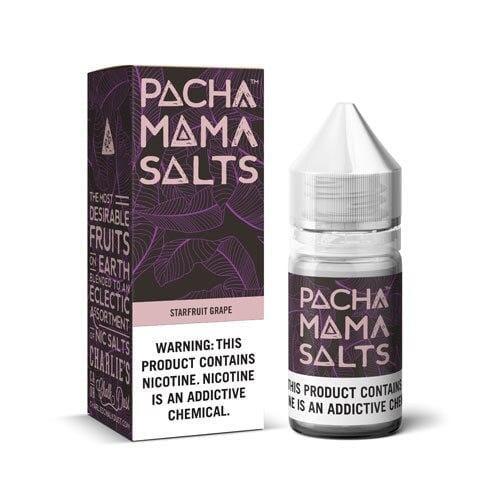 Pachamama Salts Starfruit Grape 30ml Nic Salt Vape Juice