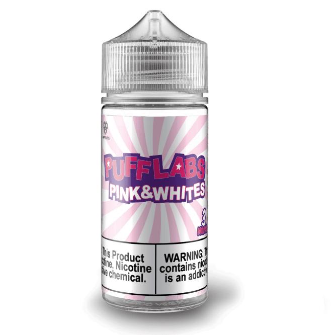 Puff Labs Pink & Whites 100ml Vape Juice