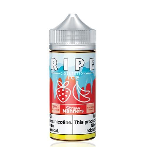 Ripe Collection Straw Nanners ICE 100ml Vape Juice