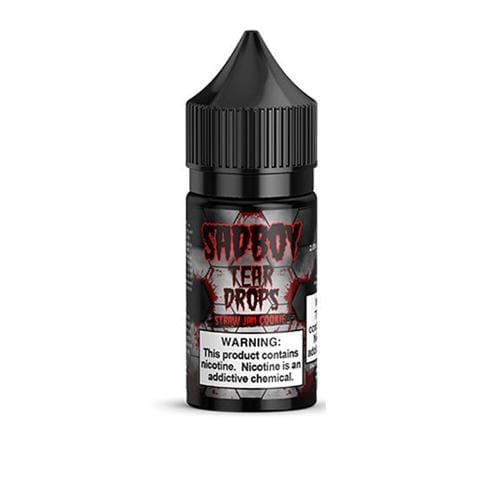 Sadboy Tear Drops Straw Jam Cookie 30ml Nic Salt Vape Juice