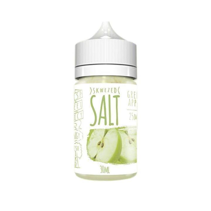 Skwezed Salt Green Apple 30ml Nic Salt Vape Juice