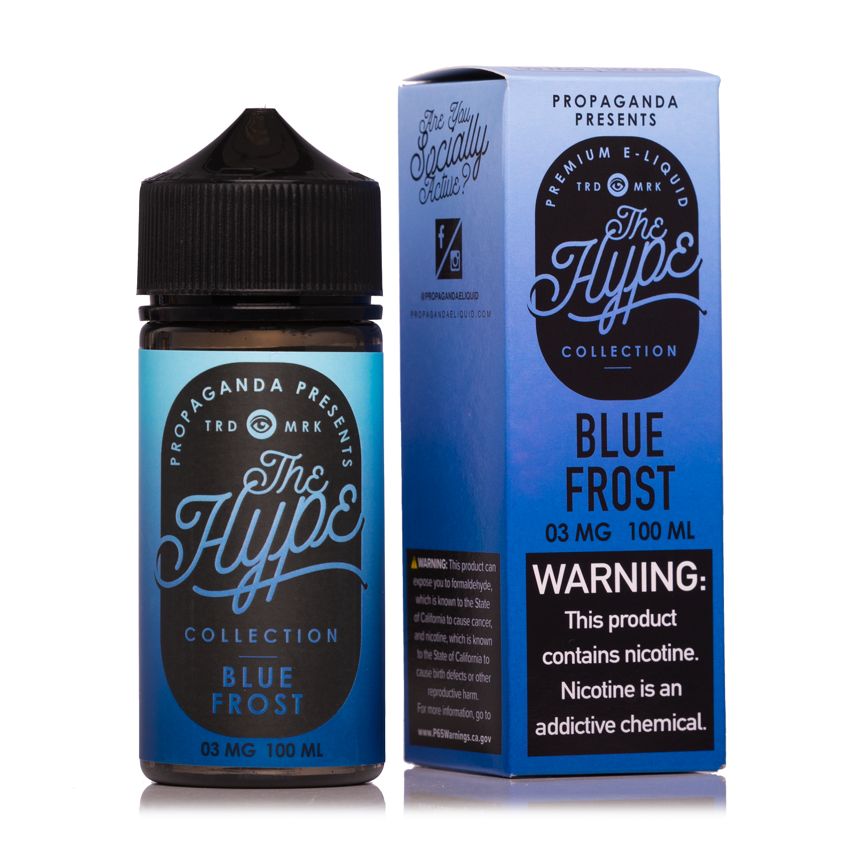 The Hype Blue Frost 100ml Vape Juice