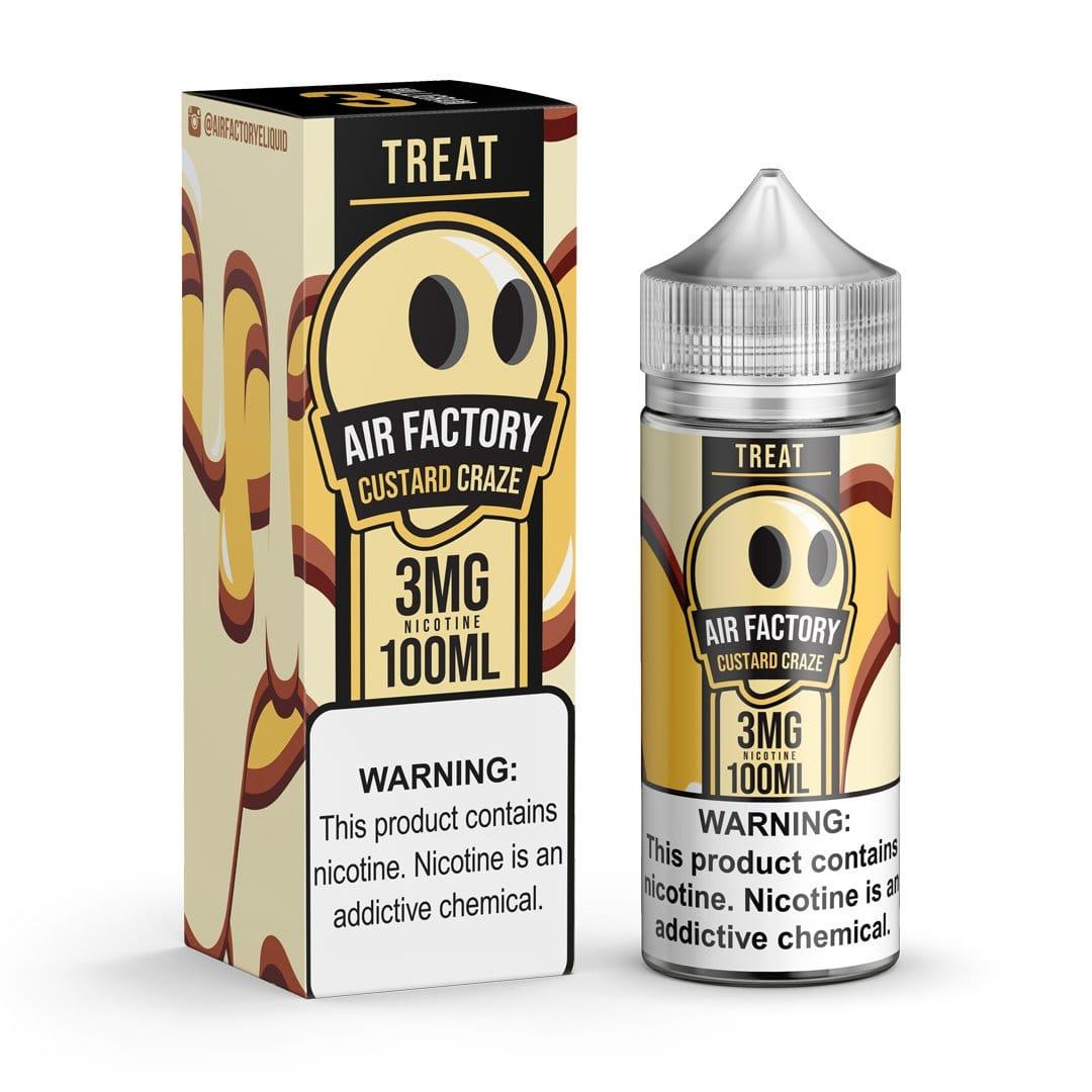 Treat Factory Custard Craze 100ml Vape Juice