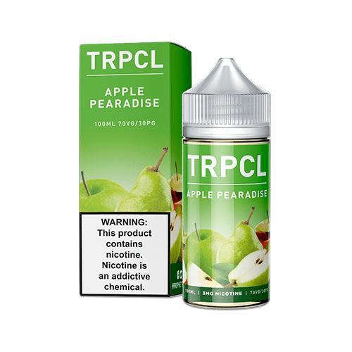 TRPCL ONE HUNDRED Apple Pearadise 100ml Vape Juice