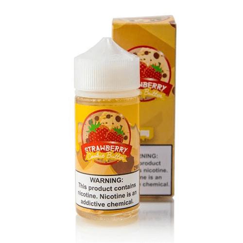 Vaper Treats Strawberry Cookie Butter 100ml Vape Juice
