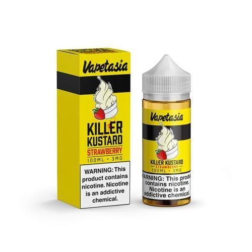 Vapetasia Killer Kustard Strawberry 100ml Vape Juice