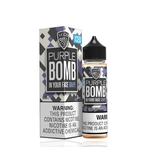 VGOD Purple Bomb ICED 60ml Vape Juice