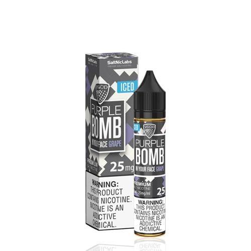 VGOD SaltNic Purple Bomb ICED 30ml Nic Salt Vape Juice