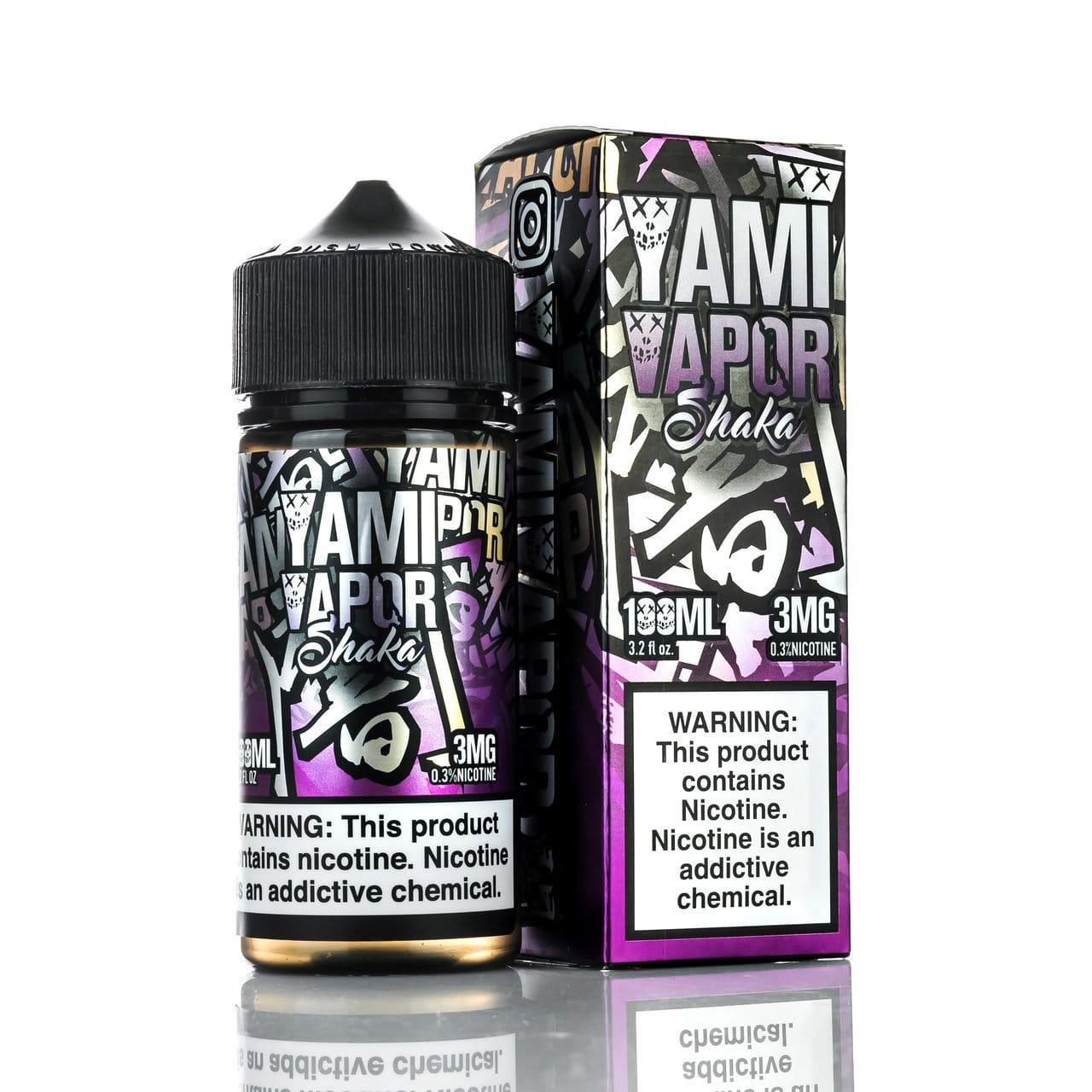 Yami Vapor Shaka 100ml & 30ml Vape Juice