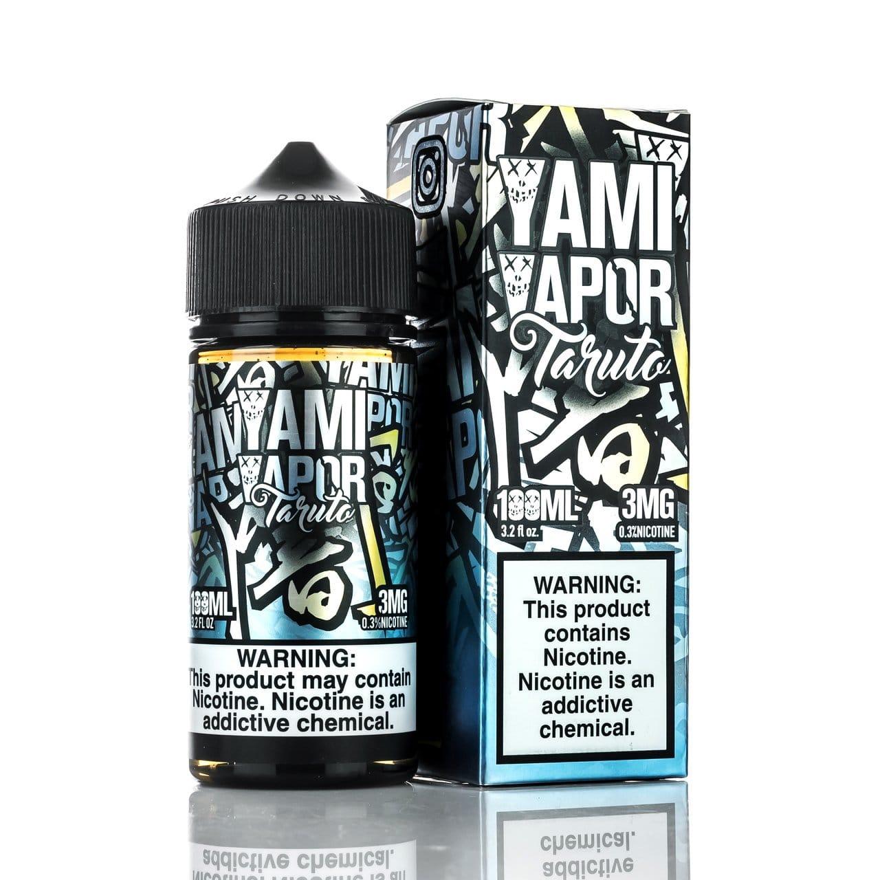 Yami Vapor Taruto 100ml & 30ml Vape Juice