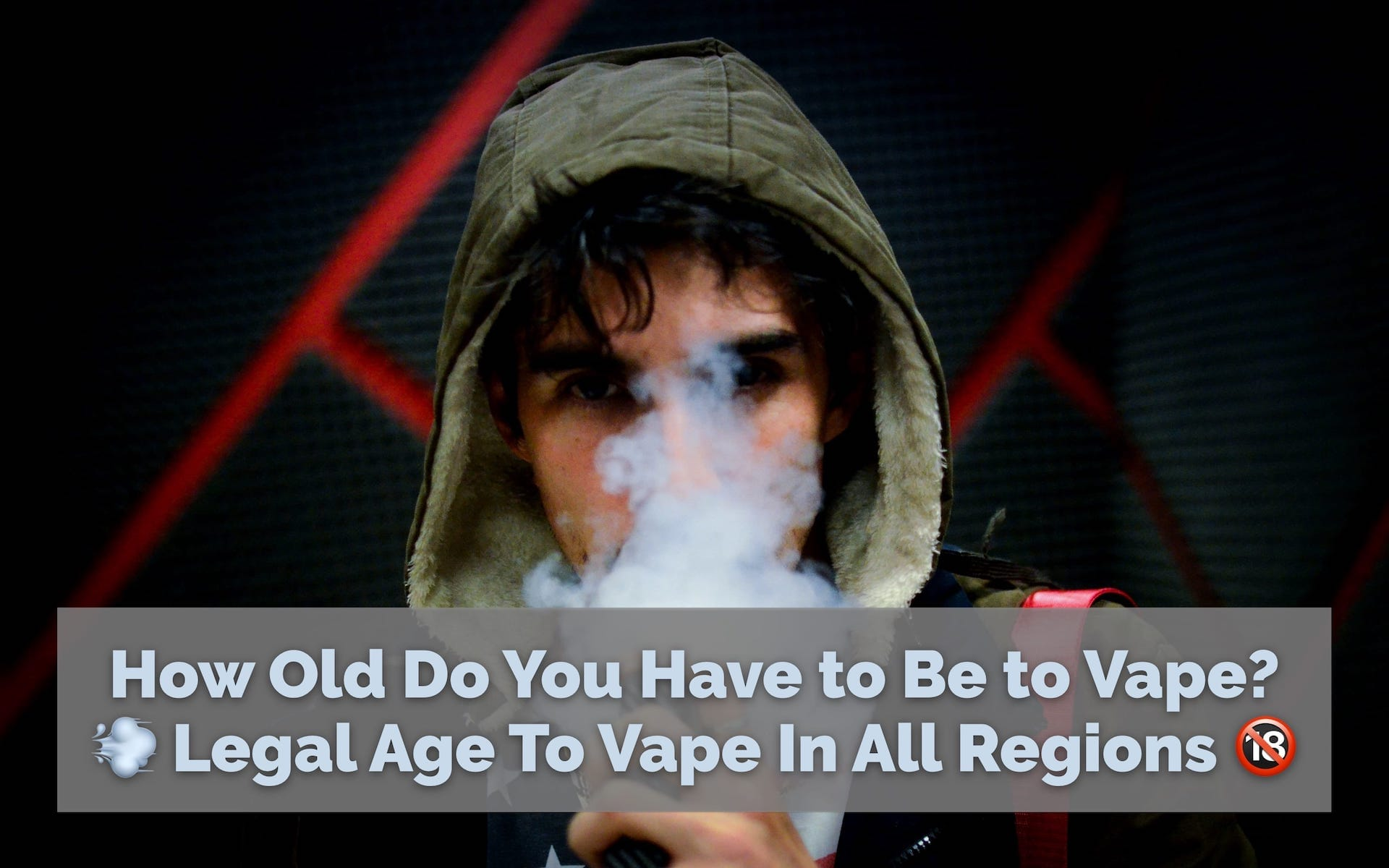 legal age to vape