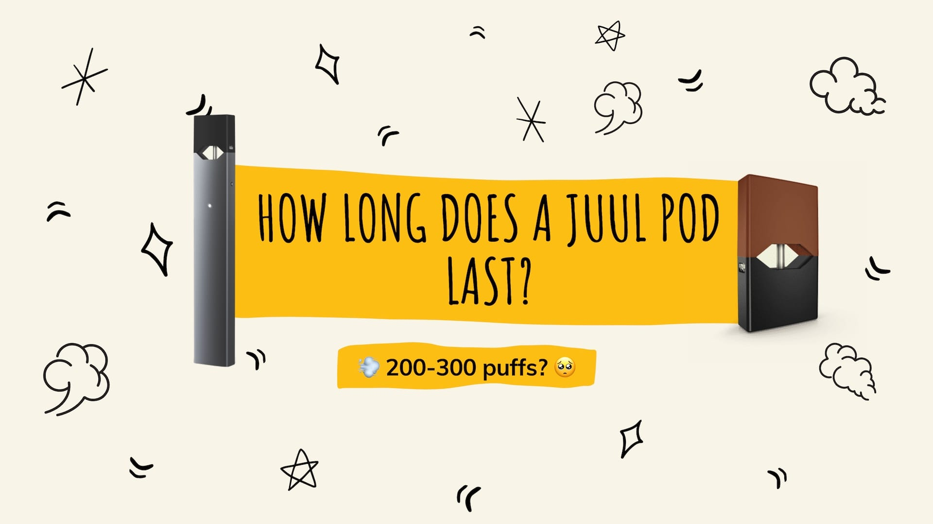how long does a juul pod last