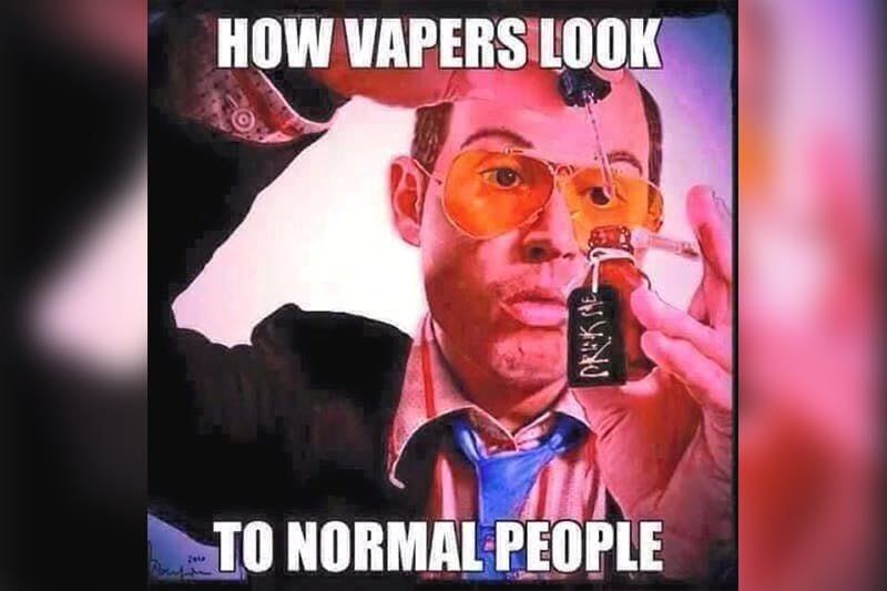 how vapers look to normal people