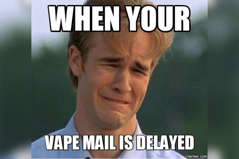 mail vaping meme