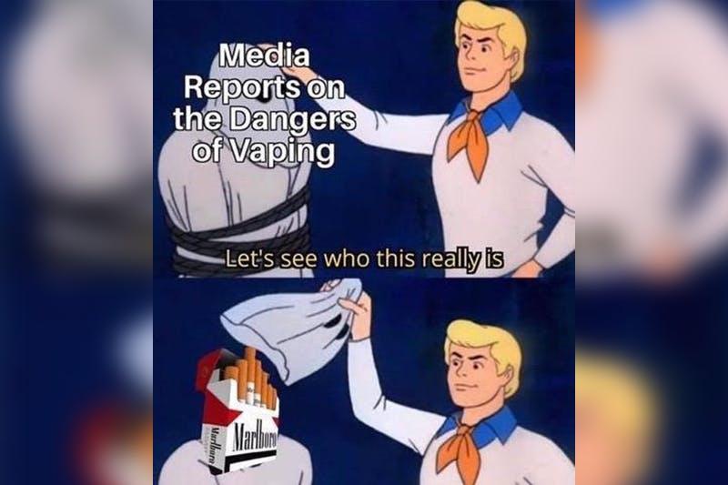 vaping is dangerous meme