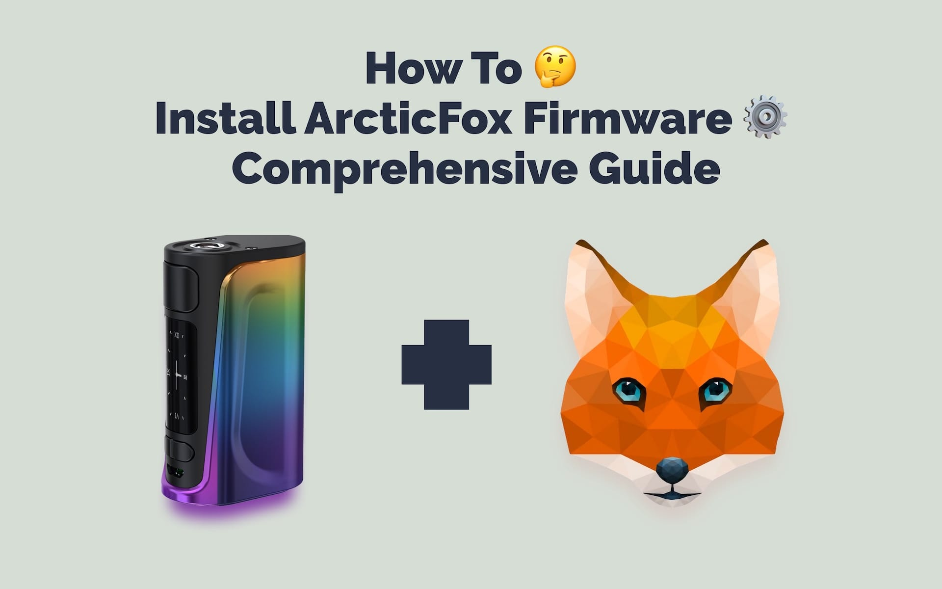how to install arctic fox firmware