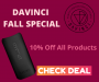 DaVinci Fall Special - 10% Off All Products